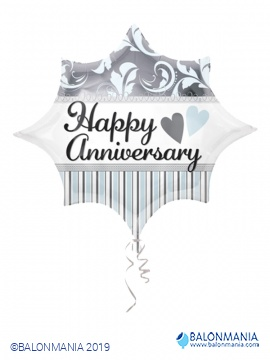 Happy Anniversary balon